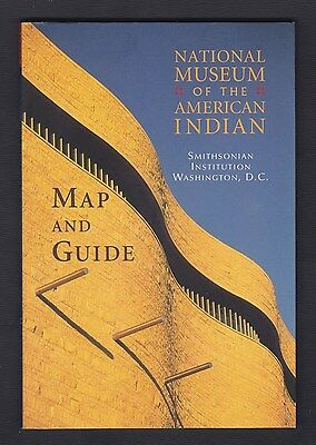2004 National Museum of the American Indian guide & maps, 63 pp