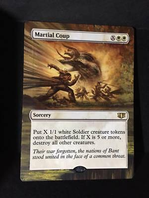 Martial Coup Commander 2014 NM White Rare MAGIC THE GATHERING CARD ABUGames