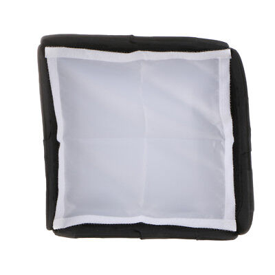 23×23cm Roof Flashlight Flash Light Diffuser Softbox Cover for Canon 580EXII