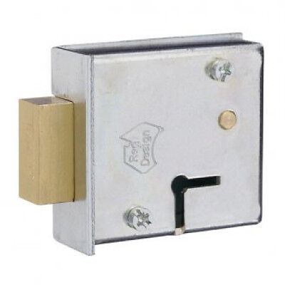 ROSS 6 Lever Safe Lock with Extended Length 75mm Keys-08952010 Free Post In Aust