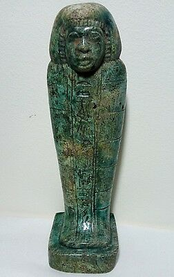ANCIENT EGYPTIAN ANTIQUE USHABTI Statue Stone Rare Ancient Antique 1850-1420 BC