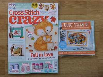 CROSS STITCH CRAZY MAGAZINE - ISSUE No.245 / SEPT. 2018 + FREE GIFT