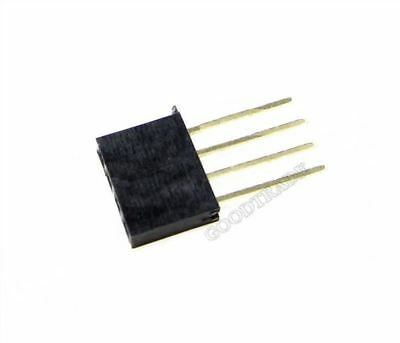 12 pcs 3x6, 6x8, 3x10 pin Stackable Long Lead Headers 11mm for Arduino Shields