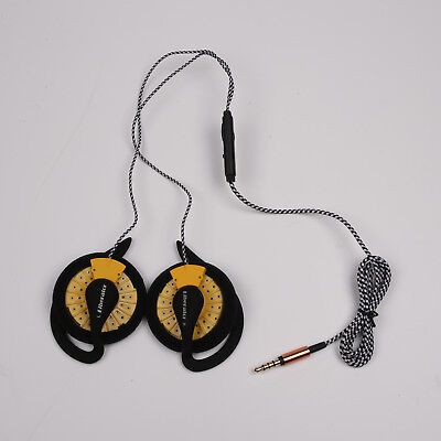 KOSS KSC35 Speakers With Other Ear Clip High Quality With MIC Yellow Nylon Wire