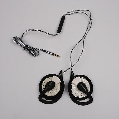 KOSS KSC35 Speakers With Other Ear Clip High Quality With MIC White Nylon Wire