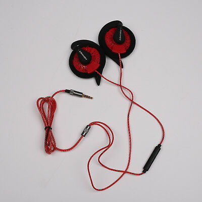 KOSS KSC35 Speakers With Other Ear Clip High Quality With MIC Red Rubber Thread