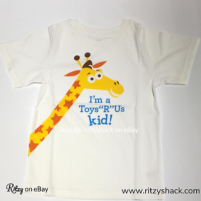 YL Toys R Us Rare I/'m a TRU Kid Tee Shirt Geoffrey Collectible HARD TO FIND