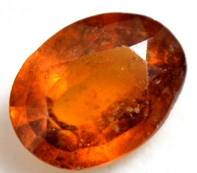 2.35 Ct Natural Orange Ceylon Hessonite Garnet Untreated AGSL Certified Gemstone