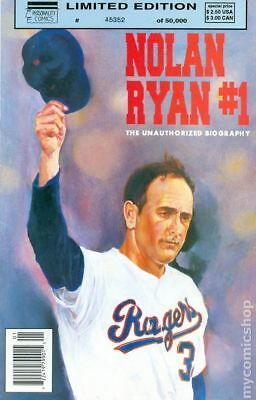 Nolan Ryan 1B 1992 VG Stock Image Low Grade