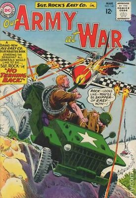 Our Army at War #140 1964 GD/VG 3.0 Stock Image