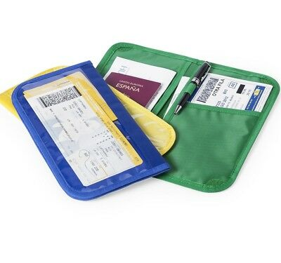 Travel Wallet Family Passport Holder for Passports, ID Cards, Credit Cards,Money