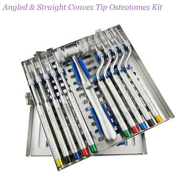 Sinus Lift Osteotomes Convex tip Bone Grafting Mill Dental Surgery instruments