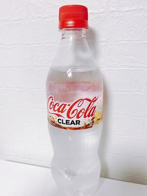 New Japan Only Clear Coca Cola !!!!!!