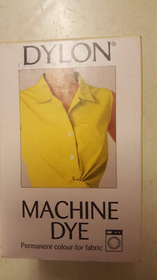 DYLON YELLOW MACHINE DYE 200g ADD SALT