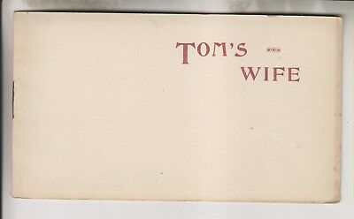 Vintage Booklet - Tom's Wife - Richards From Hats To Shoes - New York City