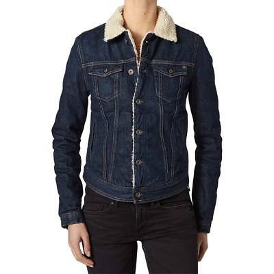 Pepe Jeans Core Jacket Dlx, Azul Female S