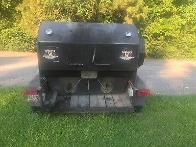 Custom Built BBQ Rotisserie Smoker with Trailer