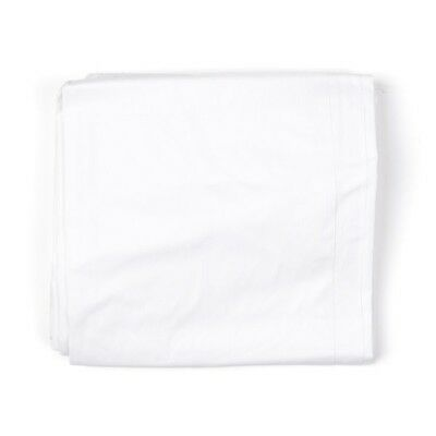 "Authentic USGI Twin Flat Bed Sheet  66"" x 102 7210-01-119-6416 Poly Cotton"