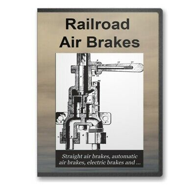 Railroad Air Brakes - 16 Historic Book Collection on CD - D259