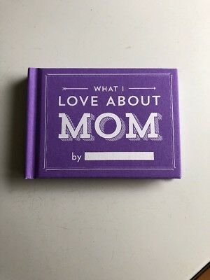 Knock Knock What I Love About Mom Fill In The Blank Love Journal (Brand New)