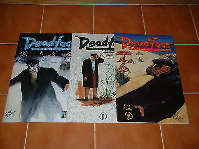 Deadface; Doing The Islands With Bacchus 1,2,3. Set/lot Dark Horse, Campbell