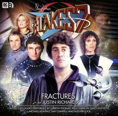 Blake's 7: Fractures by Justin Richards | Audio CD Book | 9781781782705 | NEW
