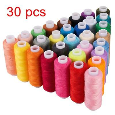 Machine Embroidery Thread Sewing Polyester 30 Spools Lot Colors Each