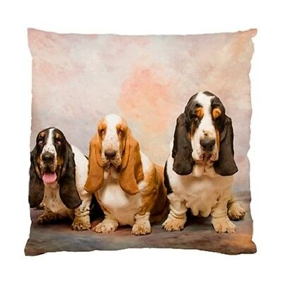 BASSET HOUND Dog Pup Puppy cushion cover Throw pillow 100809600