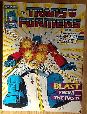 Transformers UK Comic Issue 197