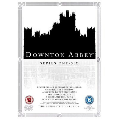 DVD - Downton Abbey: The Complete Collection - Universal Pictures
