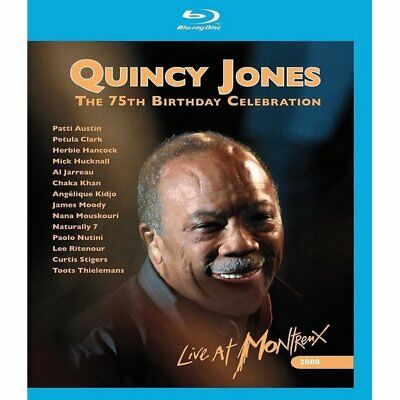 Blu-ray - Quincy Jones/75th Birthday - Eagle Rock - Quincy Jones