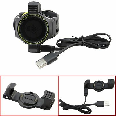 USB Charger Cradle Data Dock Station For Garmin Forerunner225 GPS Running Watch