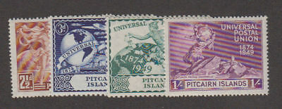 Pitcairn Is. - 1949 U.P.U. Set. Sc. #13-6. SG #13-6. Mint