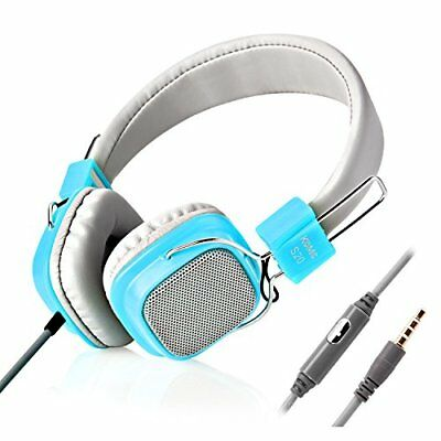 On Ear Headphones, Jelly Comb Wired Stereo Lightweight Foldable Headphones