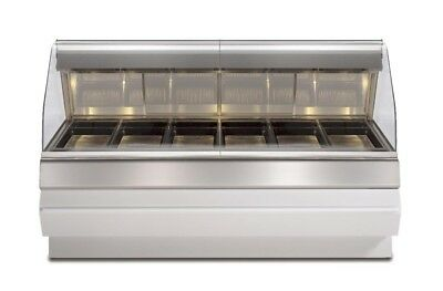 Henny Penny HMR-107 Heated Hot Food Merchandiser Self-Service 8'