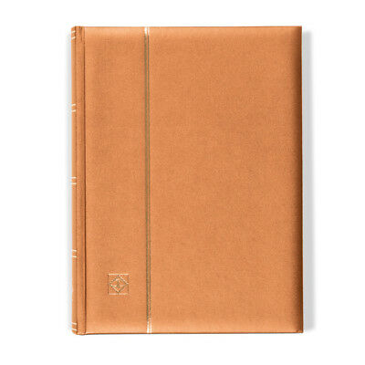 Lighthouse A4 COMFORT Stockbook 64 Page Padded METALLIC EDITION Cover - BRONZE