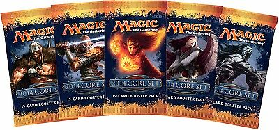 MAGIC THE GATHERING Magic 2014 M14 Booster Pack Core Set Retro Rare Pack (Aus)