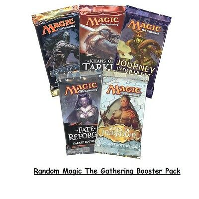 2x TWO Magic the Gathering Random Booster Packs New/Sealed (Aus)