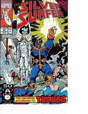 Silver Surfer #55 Thanos! Infinity Gauntlet FREE SHIPPING @ $30 in USA!