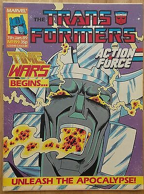 Transformers UK Comic Issue 199