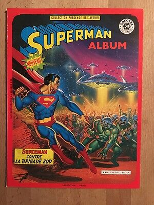 Superman contre la brigade Zod - Sagédition - 1983 - TBE