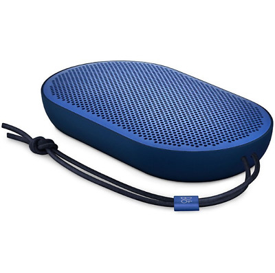 B&O PLAY by Bang & Olufsen Beoplay P2 Portable Bluetooth Speaker Royal Blue NEW