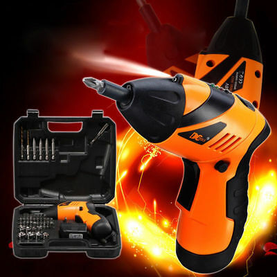 2018 New 4.8V LiIon Battery Cordless Screwdriver Electric Power Tool Drill Kit
