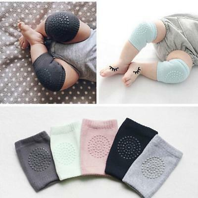 Cotton Anti-slip Cushion Knee Pad Sock Crawling Elbow Safety For Baby Kids 8C
