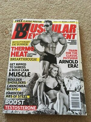 Muscular Development Magazine - Calum Von Moger - Bodybuilding Magazine - RARE