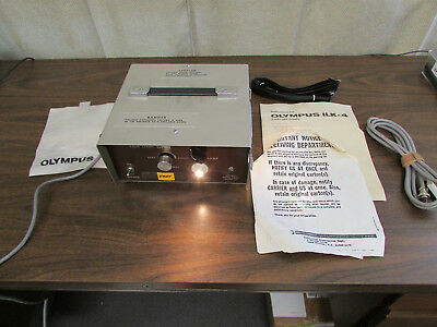 Olympus ILK-4 Cold Light Supply For Microscope Or Endoscopy NOS