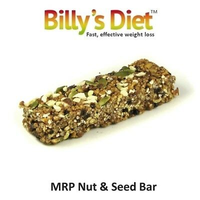 25 Nut & Seed MRP bars, low carb, high protein, gluten free, VLCD, diet, slim