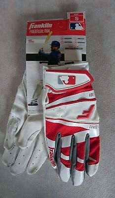 Franklin Batting Glove Freeflex FX4 - ADULT - Gr. S - Baseball-Handschuh weiß