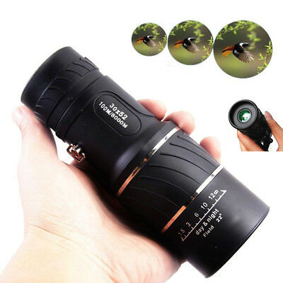 Dual 30X52 Focus Zoom Spotting Spotter Hiking Monocular Hd Optic Scope Telescope