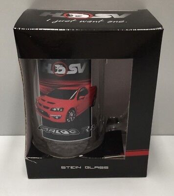 Holden Hsv Maloo R8 Ute Handled Beer Stein Glass V8 Supercars